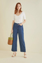 Organic Cotton Denim Trousers
