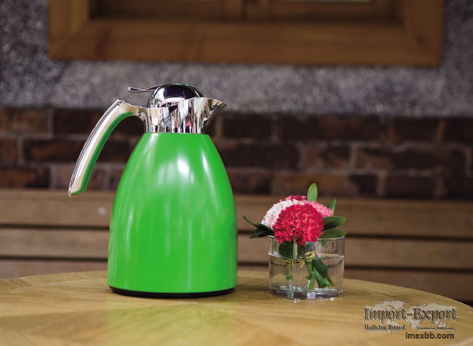 Coffee Pot With Glass Refill