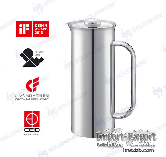 SVP-A Stainless Steel French Press