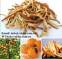 Natural Slice Dried Orange Peel Whole Price - from Vietnam