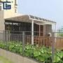 Waterproof 4m X 3m Aluminum Pergola Canopy Awning Polycarbonate Roof UV Pro