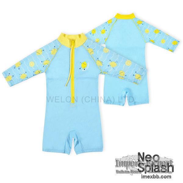 Children Rashguard Swimsuit