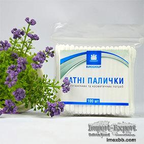 Plastic Stick Cotton Buds Ziplock Pack Supplier
