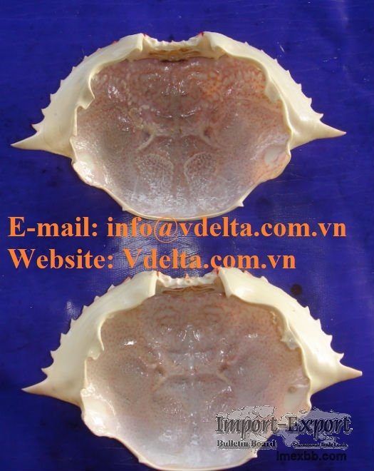 Raw Material Dried Crab Shell Vietnam