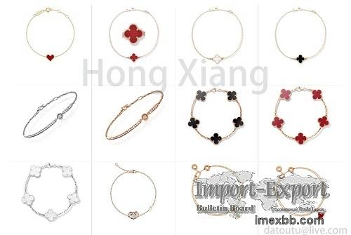 Hot selling four-leaf clover bracelet