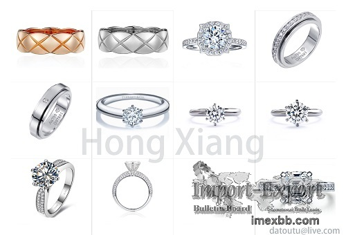 Exquisite wedding ring couple ring