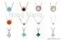 Simple pearl necklace, exquisite zircon necklace