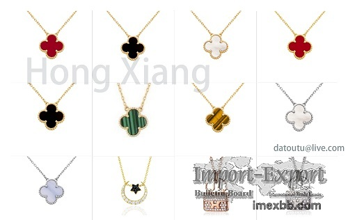 Fashion new necklace hot-selling four-leaf clover necklace