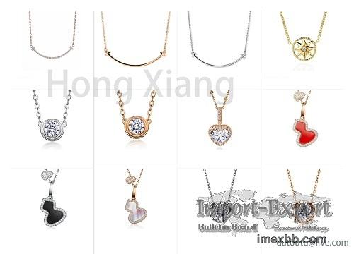 Luxury zircon necklace, exquisite necklace can be customized
