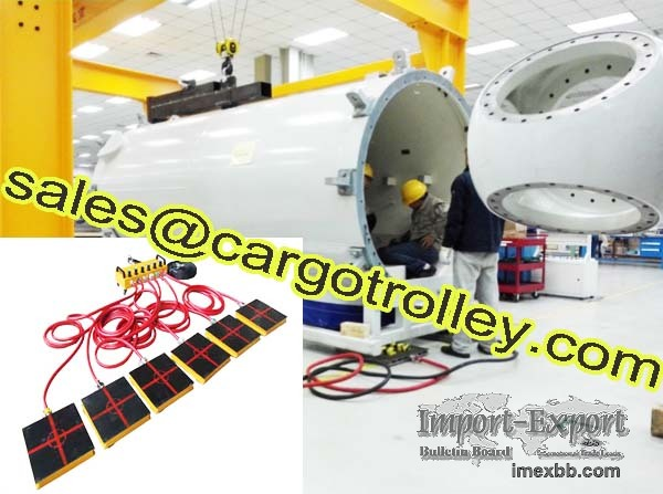 Air Castes is the up to date technology of moving heave duty loads Finer Li