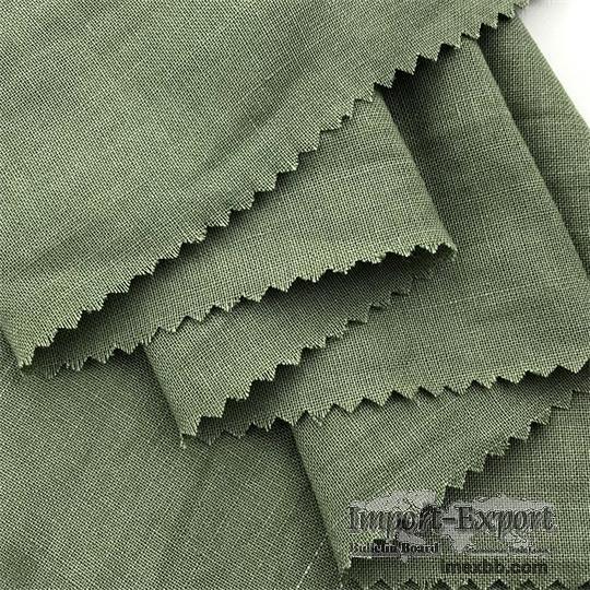 100% Ramie Fabric Washed Fabric clothing Fashion Apparel Fabric #R007