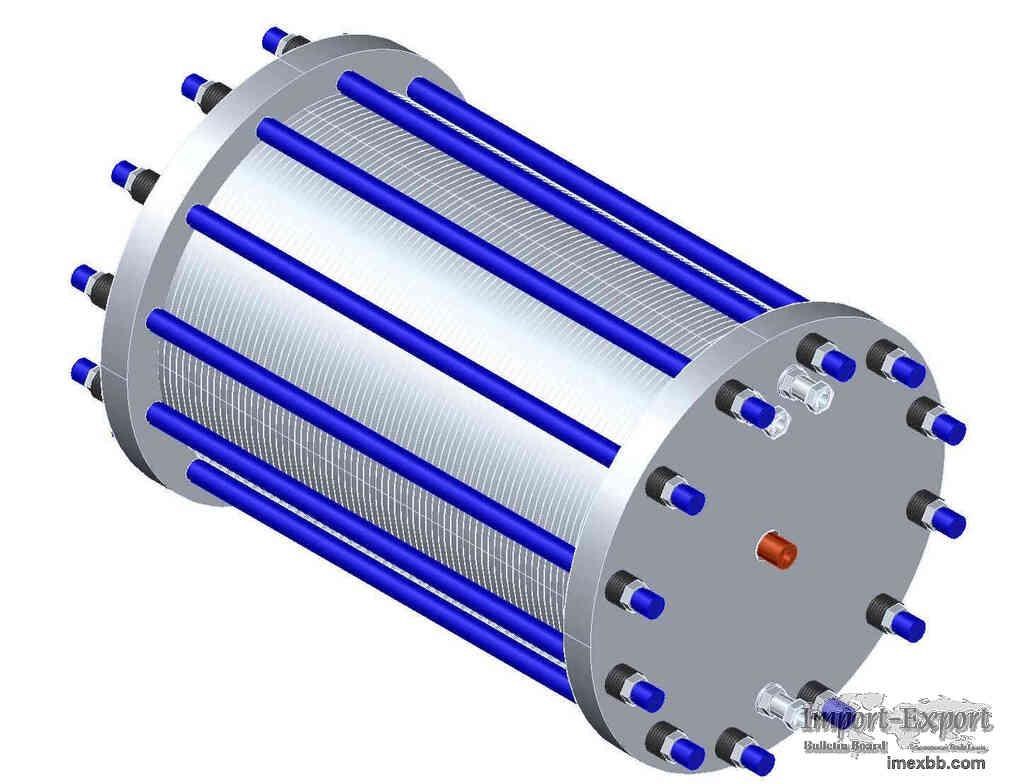 Containerised type hydrogen generator alkaline hydrogen electrolyser