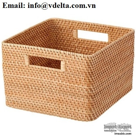 Bamboo basket/ rattan basket with best price