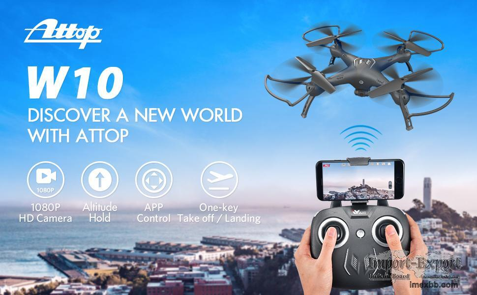 ATTOP Dronewith1080PHD CameraforKids/Adults/Beginners