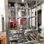 Cooling medium for large generators in high-speed turbine generators