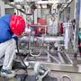 Industrial electrolyzer oxygen generator machine