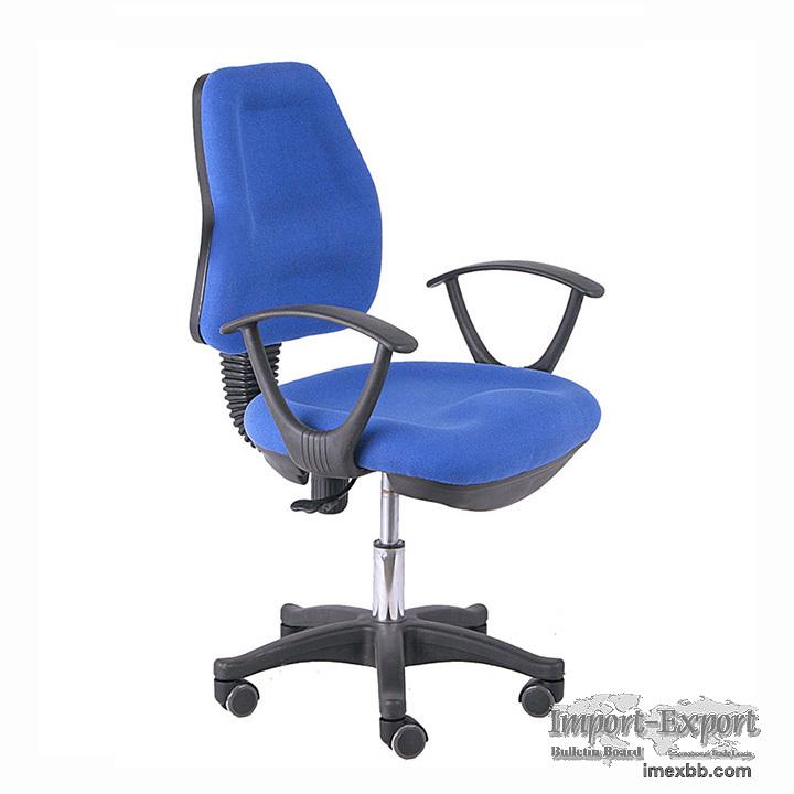 High Quality Swivel Lift Fabric Office Staff Chair
