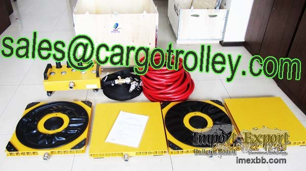 Air Casters Air skates for moving heavy equipment machinery