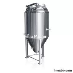 Wine Stainless Steel Tanks , 250BBL Stainless Steel Fermentation Vessel