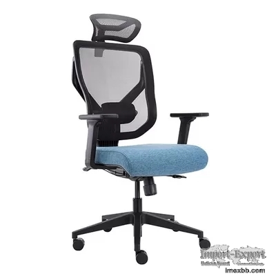 Vida 3D Lumbar Support Swivel Office Chairs Mesh Back Ergonomic Office Chai