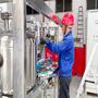 Electrolysis of water hydrogen production hydrogen turbine generator