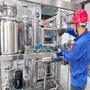 Alkaline electrolyzer stack for industrial water gas electrolysis