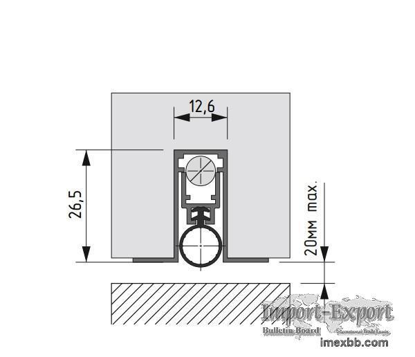 Automatic drop down seal OM 13x27