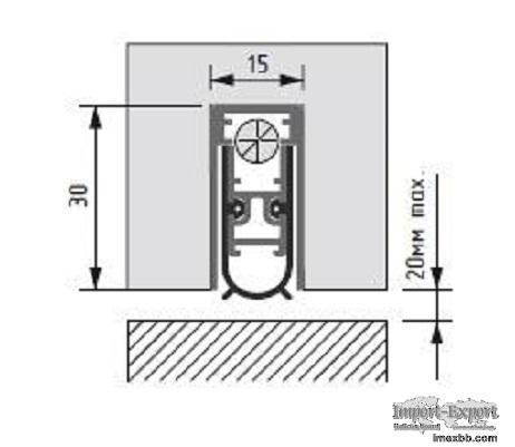 Automatic drop down seal SN 15x30