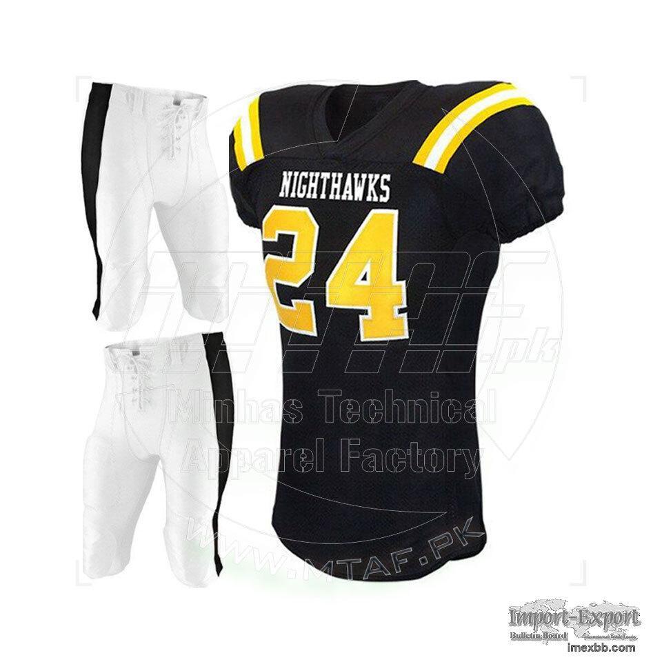 American Football Player Jersey men sports wear uniform