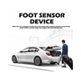 Foot sensor device for electric tailgae lift system