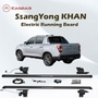 Power smart electric Side Step Running Board LED light blue booth For Ssang