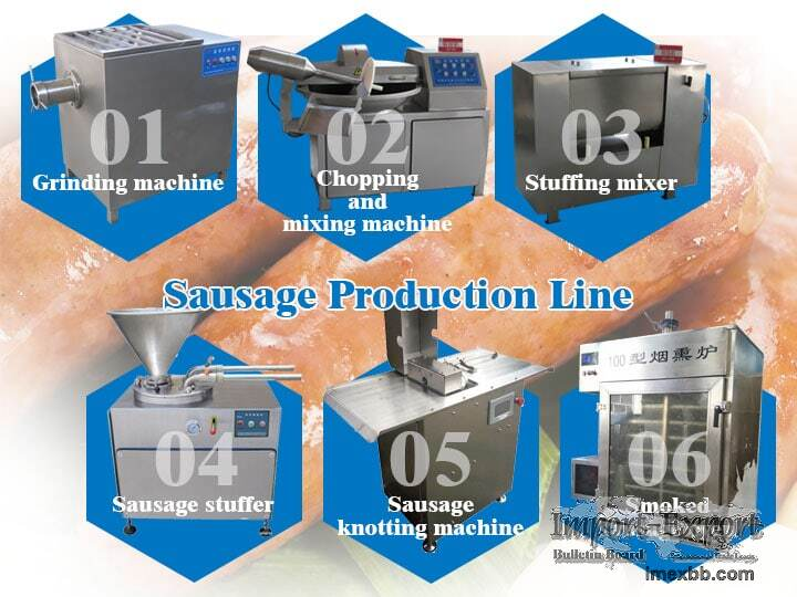 Sausage Production Line  Sausage Processing Machines