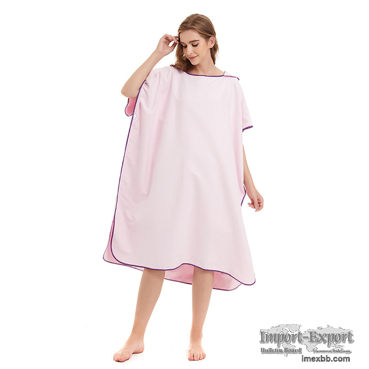 Microfiber Surf Poncho without Pocket & SIeeves