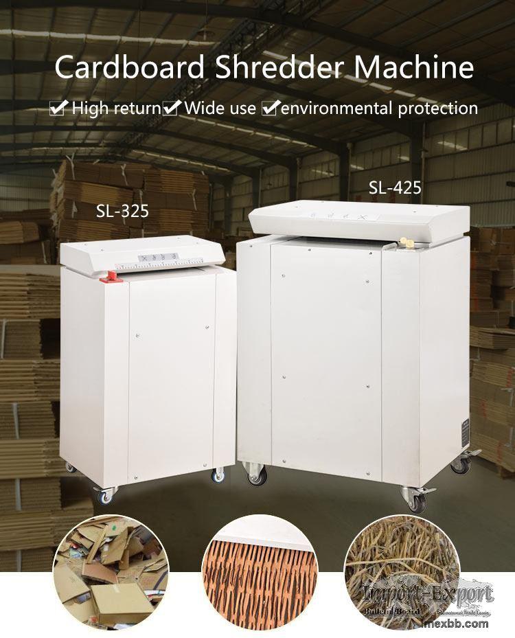 Industrial Cardboard Shredder  Carton Paper Shredding Machine