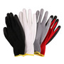 EN388 Nylon Polyester PU Coated Safety Gloves for Working Safety