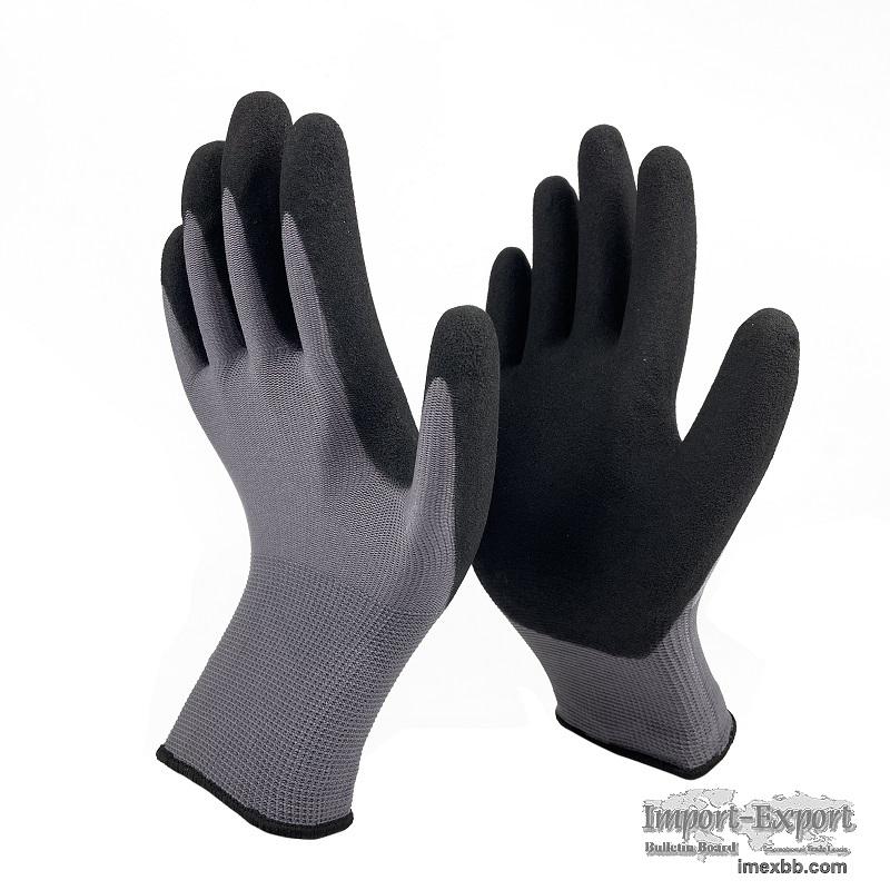 Foamed Sandy Nitrile Coated Gloves