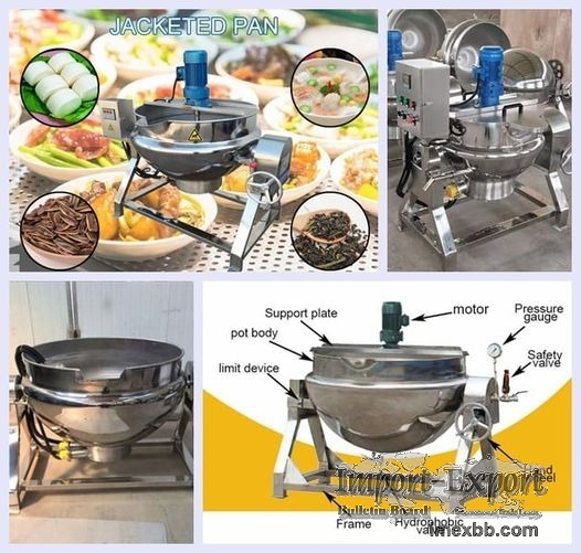 Commercial Jacketed Kettle for Cooking