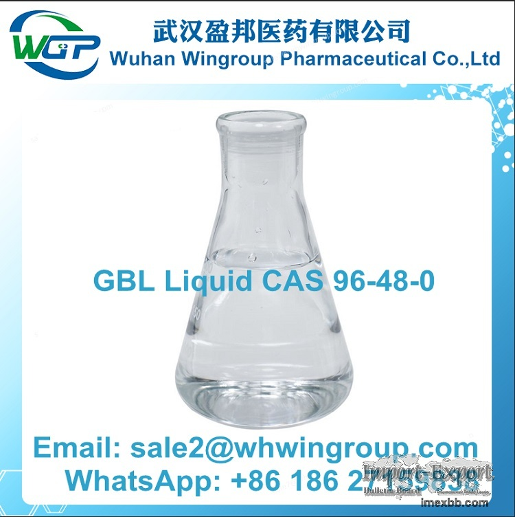 GBL Liquid CAS 96-48-0 with Top Quality and Safe Delivery to Russia