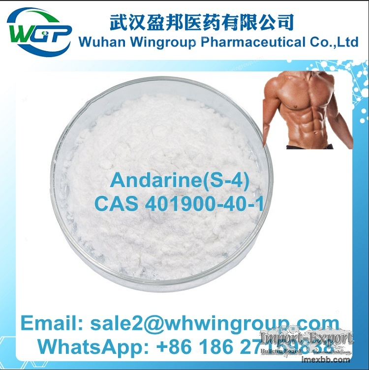 China Manufacturer Andarine(S-4)CAS 401900-40-1 with Stable Supply