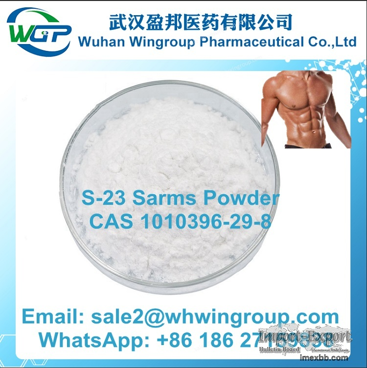 S-23 Sarms Raw Powder CAS 1010396-29-8 for Muscle Building and Fat Loss