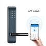 Touch Screen FCC Intelligent Door Lock 300mm Electronic Combination Door Lo