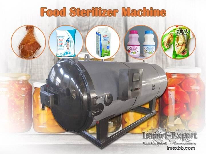 Food Sterilizer  Packaged Food Sterilization Machine