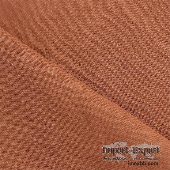 100% Linen Fabric Natural Linen Fashion Apparel Fabric