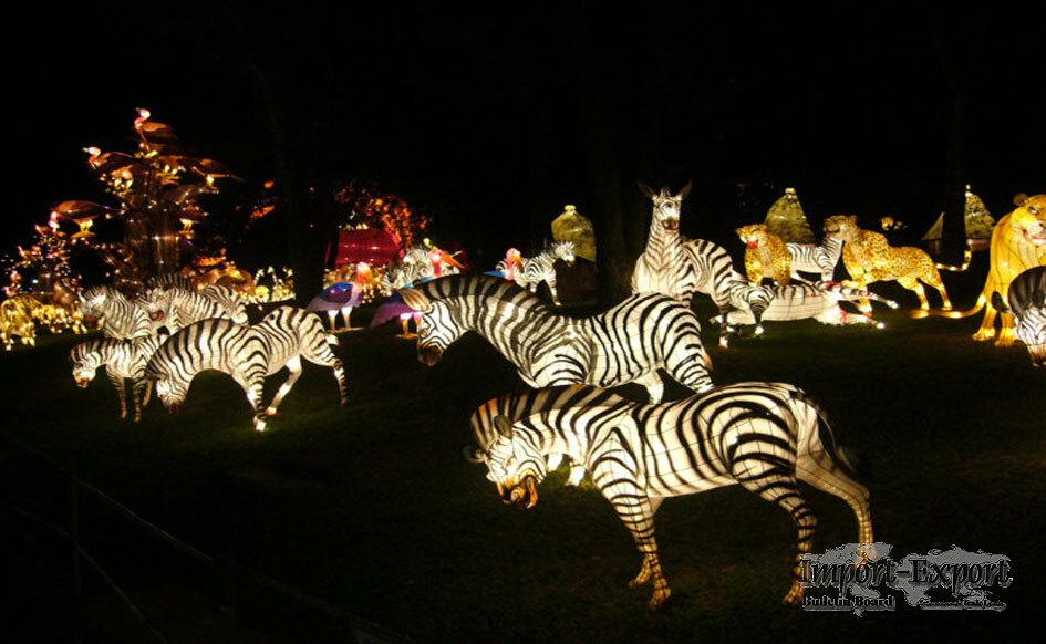 Zebra-Shaped Lantern