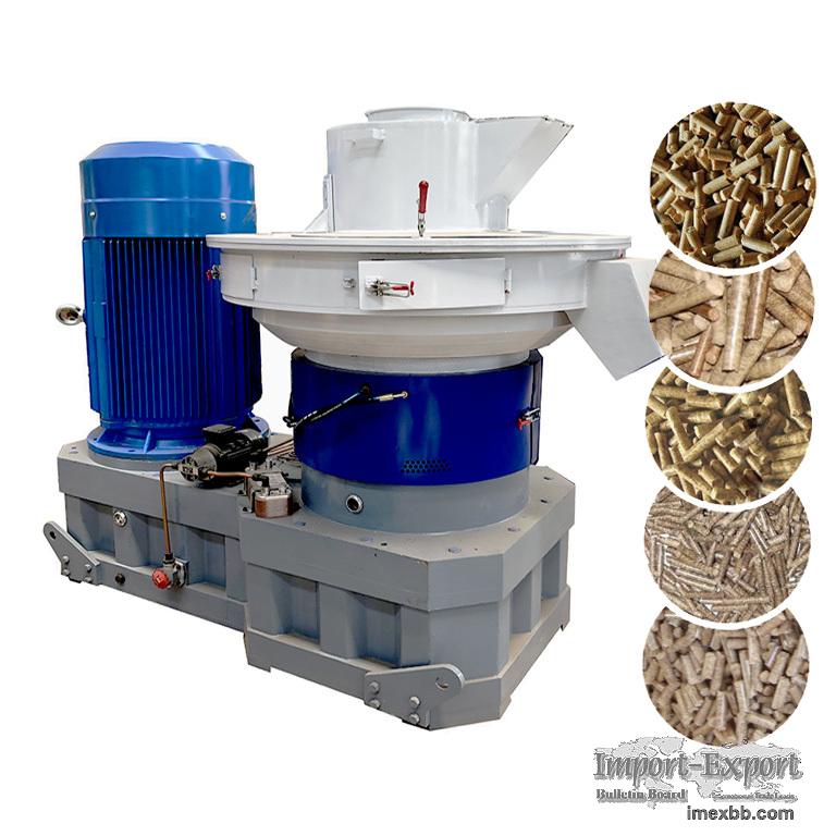 XGJ560P biomass wood pellet press wood pellet making machine