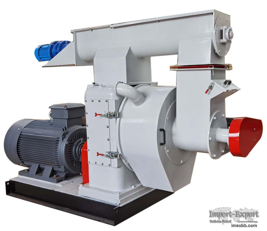 HKJ Ring die poultry feed pellet maker machine