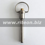 Ring handle ball lock pin / M8SR40
