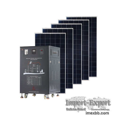 Off Grid 1~5KW Solar Power Storage System with Lead-acid Battery