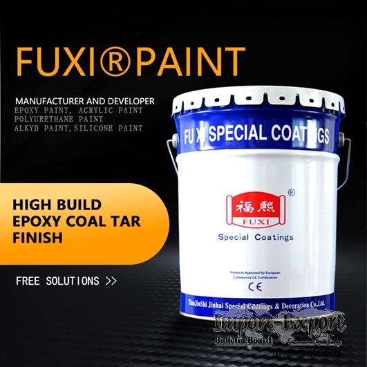 High-build Epoxy Coal Tar Finish