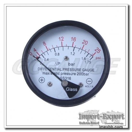 Piston Differential Pressure Gauges Switches